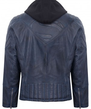 Batman v Superman Dawn of Justice Leather Jacket Superman Hero