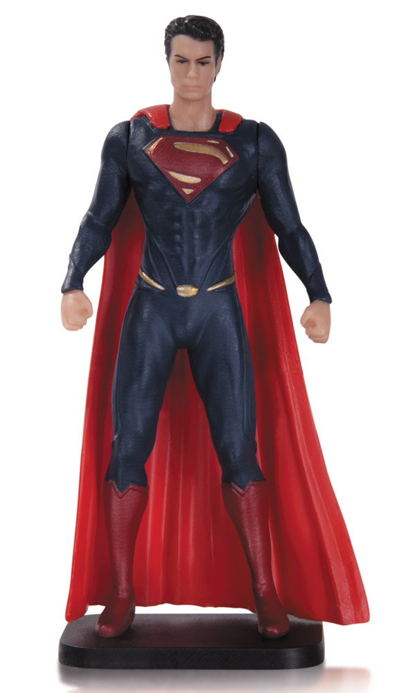 Man of Steel PVC Figure Superman 9 cm