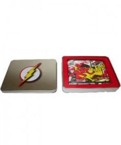 DC Comics Wallet in a Tin Running Flash