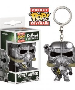 Fallout Pocket POP! Vinyl Keychain Power Armor 4 cm