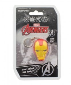 Marvel Comics Light-Up Keychain Iron Man
