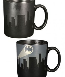 Batman Heat Change Mug Dark Logo