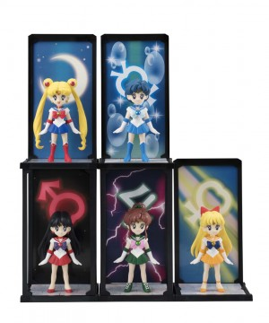 Sailor Moon Tamashii Buddies PVC Statue Sailor Mercury 9 cm