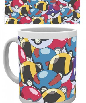 Pokemon Mug Pokeballs
