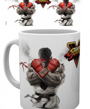 Street Fighter V Mug Key Art
