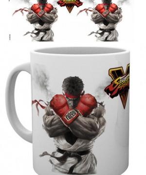 Street Fighter V Mug Key Art