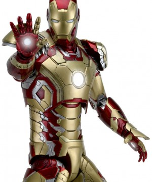 Iron Man 3 Actionfigur 1/4 Iron Man Mark XLII 46 cm