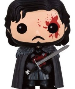 Game of Thrones POP! Television Vinyl Figure Bloody Jon Snow 9 cm