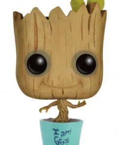 Guardians of the Galaxy Pocket POP! Vinyl Keychain Baby Groot in Teal Pot 4 cm
