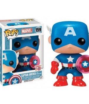 Marvel Comics POP! Marvel Vinyl Figure Captain America Photon Shield 75th Anniversary Limited 9 cm