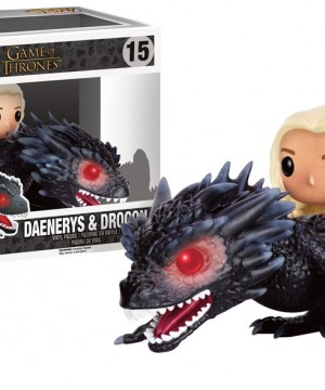 Game of Thrones POP! Rides Vinyl Figure Daenerys & Drogon 18 cm