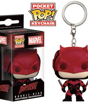 Marvel Comics Pocket POP! Vinyl Keychain Daredevil TV 4 cm