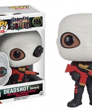 Suicide Squad POP! Heroes Vinyl Figure Deadshot (Masked) 9 cm
