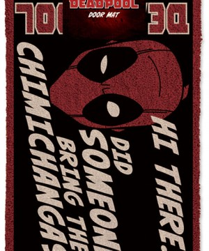 Deadpool Doormat Hi There 40 x 60 cm