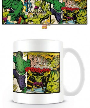Marvel Comics Mug Hulk Panels