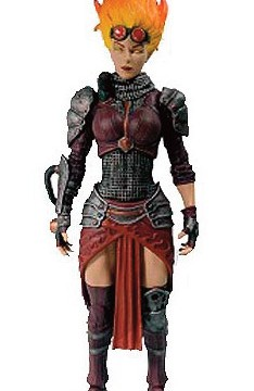 Magic the Gathering Legacy Collection Action Figure Series 1 Chandra Nalaar 15 cm