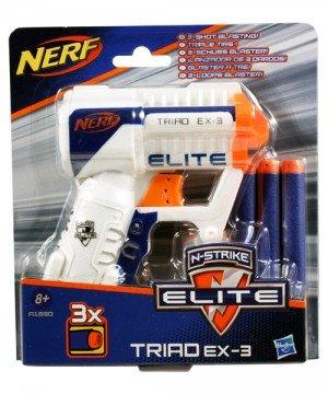Nerf Nstrike Elite Triad EX-3 szivacslövő fegyver