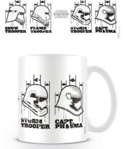 Star Wars Episode VII Mug Helmets