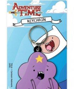 Adventure Time Rubber Keychain Lumpy Space Princess 6 cm