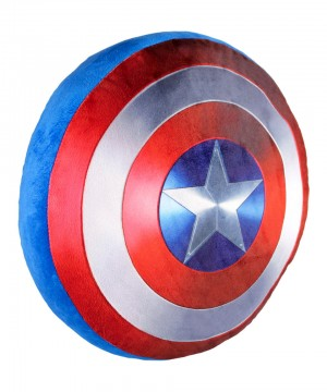 Marvel Comics Pillow Captain America Shield 35 x 35 cm