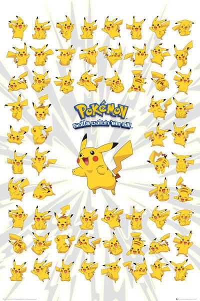 Pokemon Poster 61 x 91 cm Display