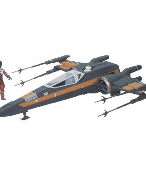 Star Wars Episode VII Class III Vehicle with Figure 2015 Poe's X-Wing Fighter