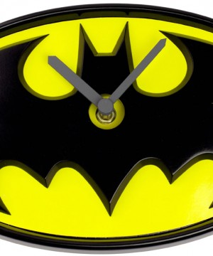 Batman Wobble Wall Clock Swinging Logo