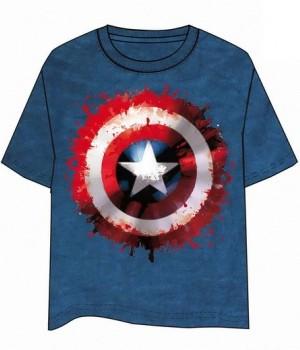 Captain America Shield T-Shirt - Size L