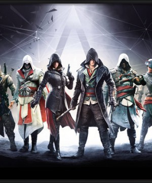 Assassin's Creed poszter - Characters