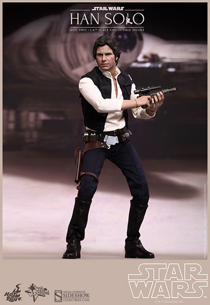 Hot Toys Star Wars - Han Solo Episode VI 30 cm