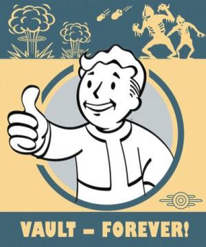 Fallout 4 poszter – Vault Forever