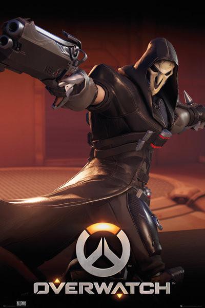Overwatch – Reaper poszter