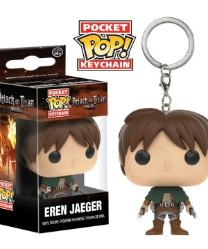 Attack on Titan Pocket POP! Vinyl Keychain Eren Jaeger 4 cm