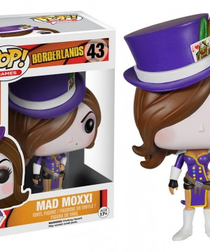Borderlands POP! Games Vinyl Figure Mad Moxxi 9 cm