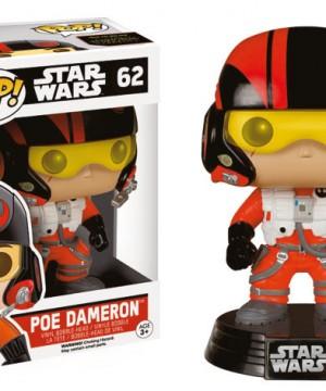 Star Wars Episode VII POP! Vinyl Bobble-Head Poe Dameron 10 cm