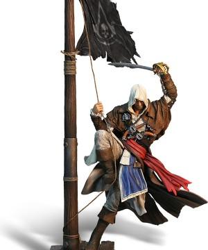 Assasin's Creed IV Black Flag - Edward Kenway PVC Szobor 45cm