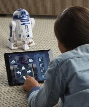 Star Wars - Interaktív okos R2-D2 droid