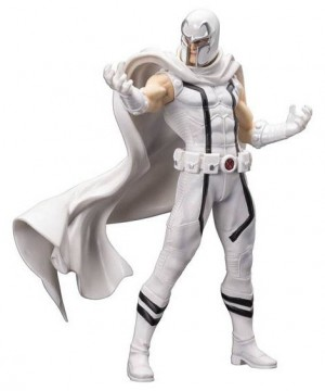 Marvel Comics ARTFX+ PVC Szobor 1/10 White Magneto (Marvel Now) heo EU Exclusive 20 cm