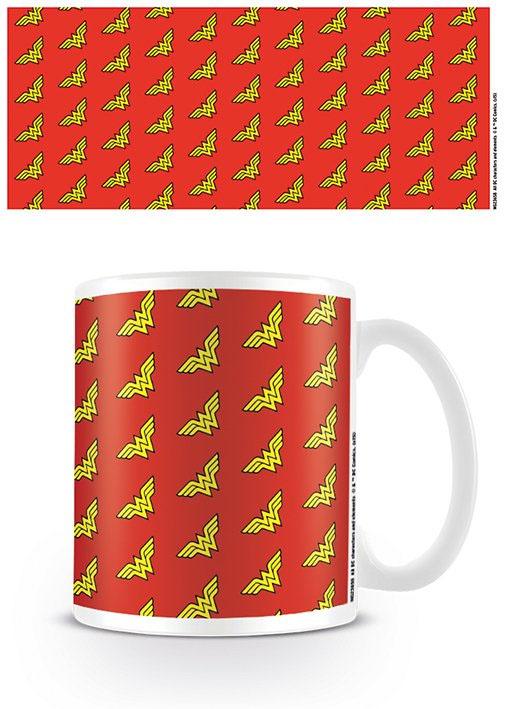 DC Originals Mug Wonder Woman Logo Pattern