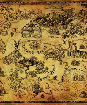 Legend of Zelda Poster Pack Hyrule Map 61 x 91 cm