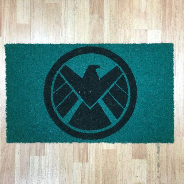 Marvel Comics Doormat S.H.I.E.L.D. Logo 43 x 73 cm