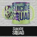 Suicide Squad Mug Characters & Logo