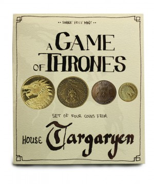 Game of Thrones - House Targaryen érme kollekció (replika)