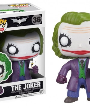 DC Comics POP! Vinyl Figure The Joker 9 cm
