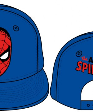Spider-Man Adjustable Cap Mask Logo