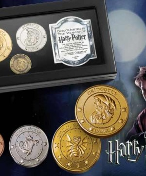Harry Potter - Gringotts Bank érme kollekció (replika)