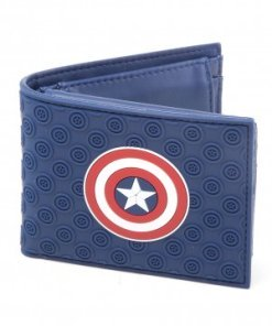 Captain America Civil War Wallet Shield Logo