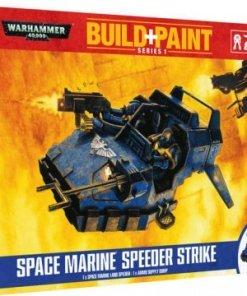 Warhammer 40k Modell Szett - Space Marine Speeder Strike
