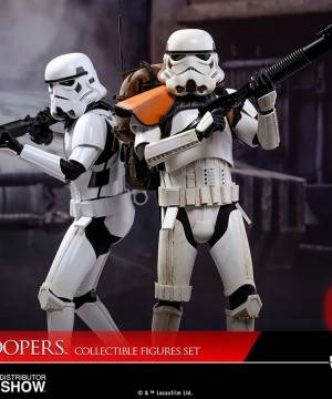 Star Wars Rogue One - Stormtrooper szobor szett