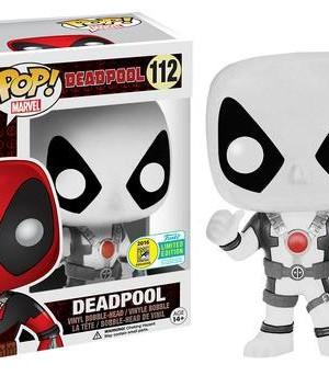 Marvel Comics Funko POP! Figura - Deadpool Thumb Up White SDCC 2016 (exkluzív)